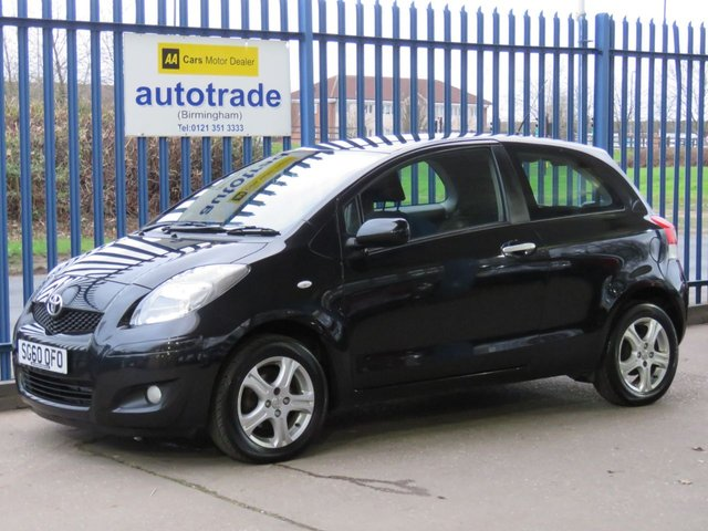 USED 2010 60 TOYOTA YARIS 1.0 TR VVT-I  3d 68 BHP ULEZ COMPLIANT Ideal 1st Car
