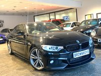 USED 2014 14 BMW 4 SERIES 2.0 428I M SPORT 2d 242 BHP BM PERFORMANCE STYLING+6.9%APR