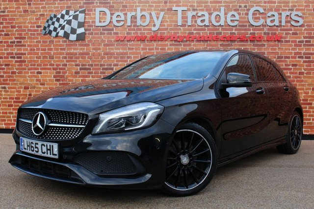MERCEDES-BENZ A CLASS at Derby Trade Cars