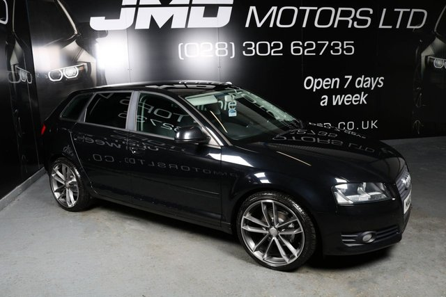 USED 2010 10 AUDI A3 2010 AUDI A3 1.6 TDI SE BLACK EDITION STYLE 5dr 103 BHP (FINANCE AND WARRANTY)
