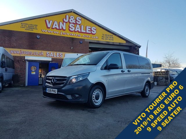 USED 2019 19 MERCEDES-BENZ VITO MINIBUS MPV BLUETEC TOURER PRO  BUS AUTOMATIC  (((((( BIG STOCK OF MINIBUSES ALL MODELS )))))
