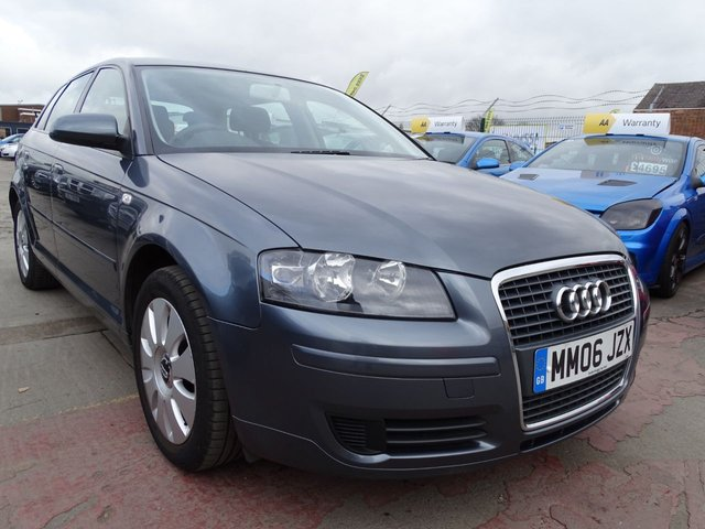 USED 2006 06 AUDI A3 1.6 SPECIAL EDITION 8V NEW CLUTCH JUST DONE