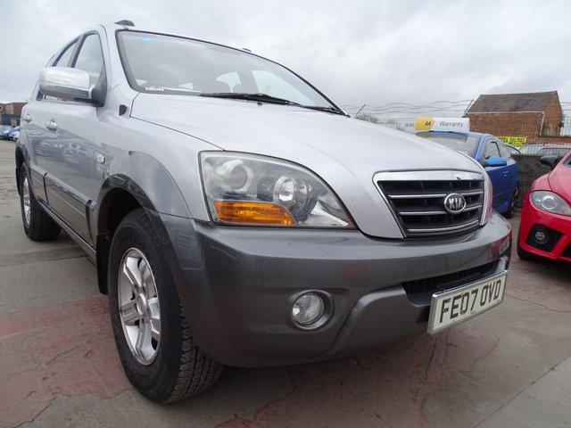 USED 2007 07 KIA SORENTO 2.5 XE 5d 168 BHP VERY CLEAN CAR