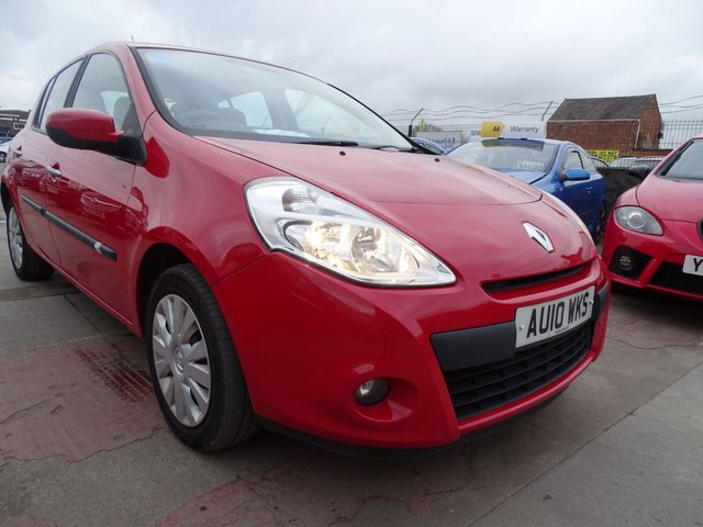 USED 2010 10 RENAULT CLIO 1.5 EXPRESSION DCI 5d CHEAP ROAD TAX