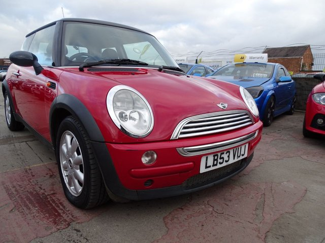 USED 2004 53 MINI HATCH COOPER 1.6 COOPER 3d 114 BHP GREAT CONDITION