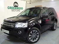 USED 2014 14 LAND ROVER FREELANDER 2 2 2.2 SD4 HSE Luxury 4X4 5dr Auto