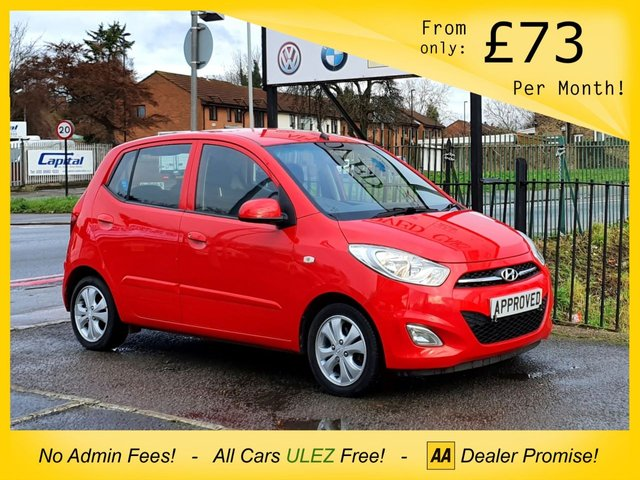 USED 2012 12 HYUNDAI I10 1.2 ACTIVE 5d 85 BHP AUX IPOD AND USB MEDIA CONNECTION, CD PLAYER, ELETRIC WINDOWS, AIR CONDITIONING AND ALLOY WHEELS FULL SERVICE HISTORY AND TWO KEYS!