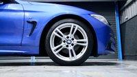 USED 2015 15 BMW 4 SERIES 420D M SPORT * ESTORIL BLUE *£30 ROAD TAX*  ** SAT NAV, HEATED SPORTS SEATS, £30 ROAD TAX **