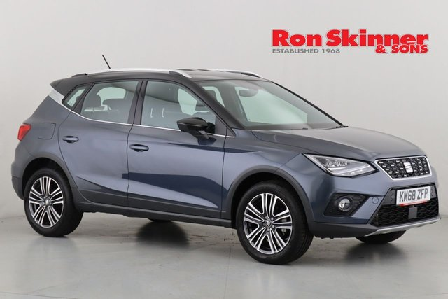View our 2018 68 SEAT ARONA 1.0 TSI XCELLENCE 5d 114 BHP