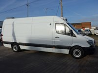 USED 2014 64 MERCEDES-BENZ SPRINTER 2.1 313 CDI LWB CHILLER WITH STANDBY, 129 BHP [EURO 5]
