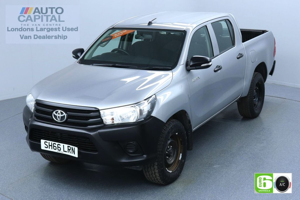 USED 2016 66 TOYOTA HI-LUX 2.4 ACTIVE 4WD D-4D DCB 148 BHP EURO 6 ENGINE AIR CON | VOICE CONTROL