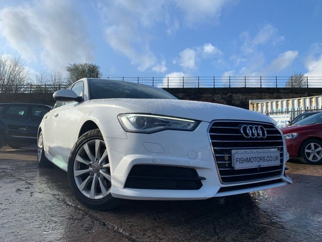 USED 2016 66 AUDI A6 SALOON 2.0 TDI ULTRA SE EXECUTIVE 4d 188 BHP 2KEYS+NAV+LEATHER+17ALLOYS+CLIMATE+PARKING+20ROADTAX+MEDIA+