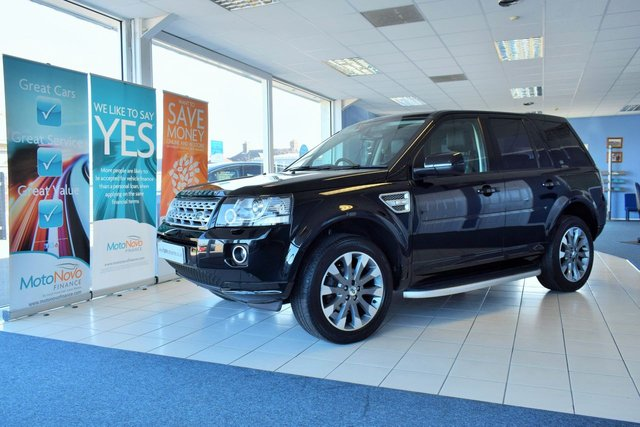 2013 62 LAND ROVER FREELANDER 2.2 SD4 HSE LUXURY 5d 190 BHP AUTOMATIC