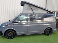 USED 2019 69 VOLKSWAGEN TRANSPORTER BRAND NEW T6.1 IN PURE GREY WITH ALL THE EXTRAS INCLD AIR CON, SENDORS, ALLOW WHEELS AND MUCH MUCH MORE