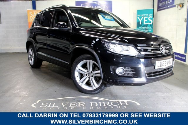 USED 2016 65 VOLKSWAGEN TIGUAN 2.0 R LINE EDITION TDI BMT 4MOTION DSG 5d 148 BHP Full Leather, 1 Owner