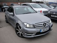 USED 2012 62 MERCEDES-BENZ C CLASS 2.1 C220 CDI BLUEEFFICIENCY SPORT 4d 168 BHP ANY PART EXCHANGE WELCOME, COUNTRY WIDE DELIVERY ARRANGED, HUGE SPEC