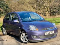 USED 2007 07 FORD FIESTA 1.25 Zetec 3dr [Climate] FULL LEATHER INTERIOR, MOT 2/21