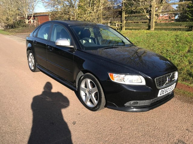 USED 2010 60 VOLVO S40 2.0 D R-DESIGN 4d 136 BHP **GREAT CONDITION**SUPERB DRIVE**