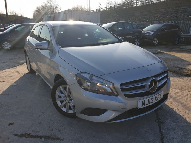 USED 2013 13 MERCEDES-BENZ A-CLASS 1.8 A180 CDI BLUEEFFICIENCY SE 5d AUTO HALFLEATHER+ALLOYS+CLIMATE+20ROADTAX+MEDIA+AUX+USB+ELECS+