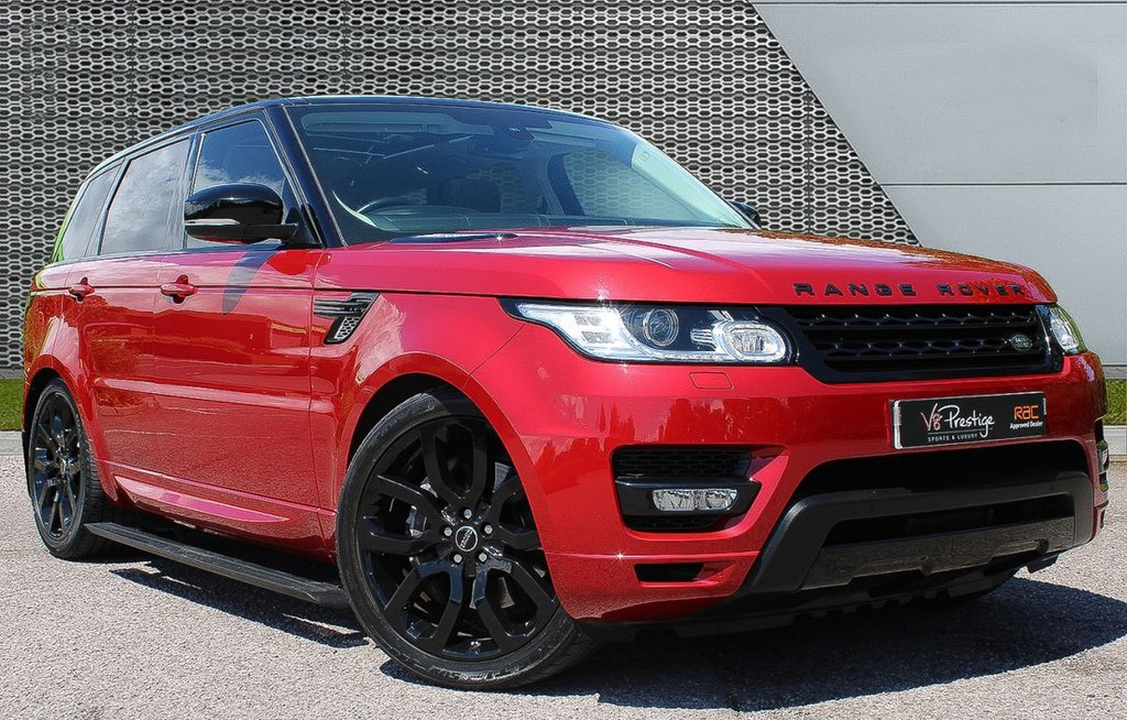 "USED 2016 65 LAND ROVER RANGE ROVER SPORT 3.0 SDV6 HSE DYNAMIC 5d 306 BHP AUTOBIOGRAPHY PACK/22"" ALLOYS"