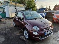 2017 FIAT 500 1.2 LOUNGE 3d 69 BHP £7299.00