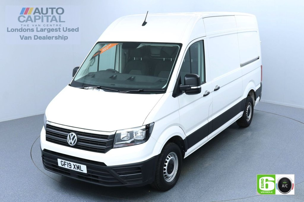 USED 2019 19 VOLKSWAGEN CRAFTER 2.0 CR35 RWD TDI STARTLINE 138 BHP MWB EURO 6 ENGINE AIR CON | BUSINESS PACK | FRONT-REAR PARKING SENSORS