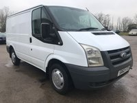 USED 2010 60 FORD TRANSIT T260 85PS SWB LOW ROOF **NO VAT**