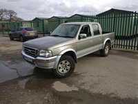 USED 2003 03 FORD RANGER 2.5 XLT 4X4 TD 2d 107 BHP MOT 12/20 NO VAT ALLOYS A/C NO VAT. GREY WITH GREY CLOTH TRIMS. 15 INCH ALLOYS. COLOUR CODED TRIMS. DOUBLE CAB. AIR CON. R/CD PLAYER. MOT 12/20. AGE/MILEAGE RELATED SALE. P/X CLEARANCE CENTRE.  LS23 7FQ. TEL 01937 849492 OPTION 3