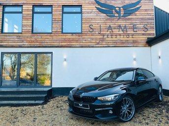 2018 BMW 4 SERIES 2.0 420D M SPORT GRAN COUPE 4d AUTO 188 BHP £18990.00