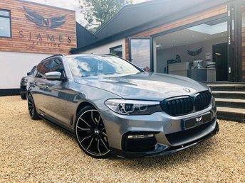 2018 BMW 5 SERIES 3.0 530D M SPORT TOURING 5d AUTO 261 BHP £26990.00