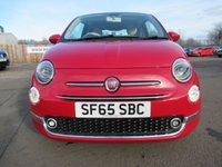 USED 2016 65 FIAT 500 1.2 LOUNGE 3d 69 BHP