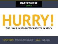 USED 2002 02 MERCEDES-BENZ SL 5.0 SL500 2d 306 BHP