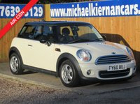 2010 MINI HATCH COOPER 1.6 COOPER 3d 122 BHP £5295.00