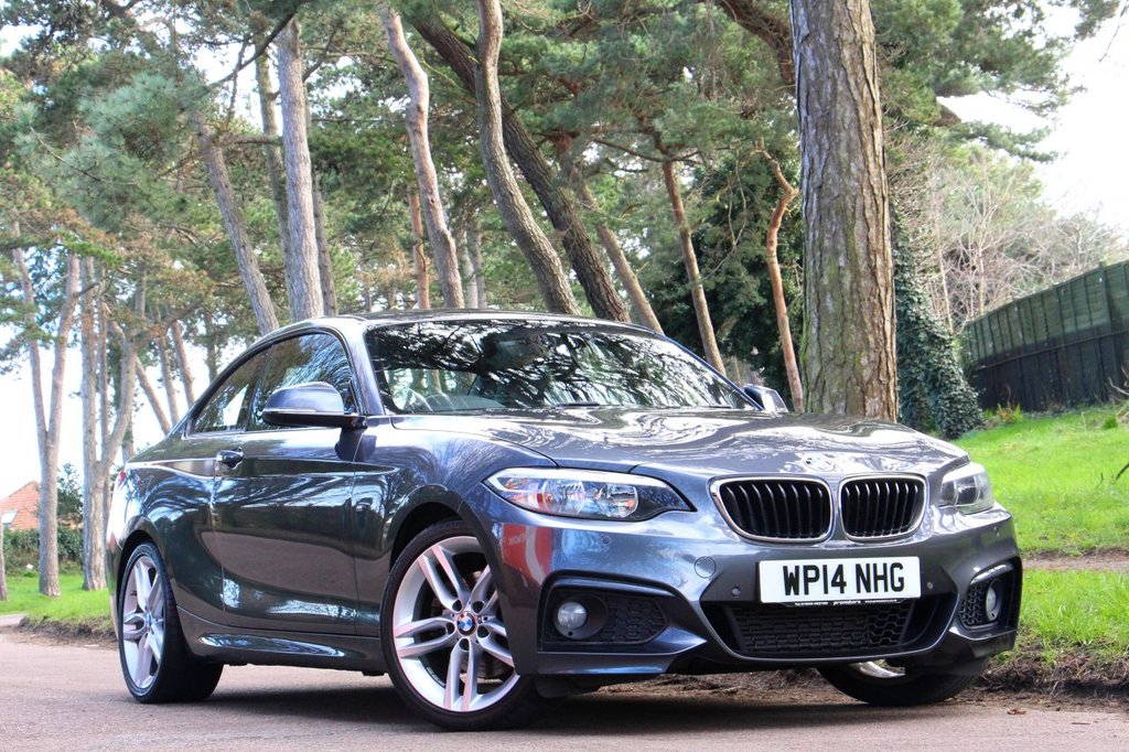 USED 2014 14 BMW 2 SERIES 220D M SPORT COUPE