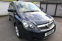 USED 2011 11 VAUXHALL ZAFIRA 1.8 SRI 5d 138 BHP * FULL HISTORY - CAM BELT DONE