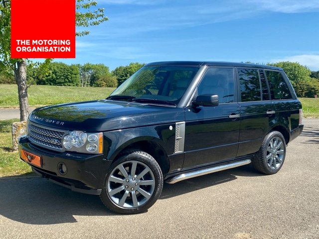 USED 2006 06 LAND ROVER RANGE ROVER SPORT 4.2 V8 SUPERCHARGED VOGUE AUTO 5 DR ESTATE +REAR SCREENS+SAT NAV+XENONS