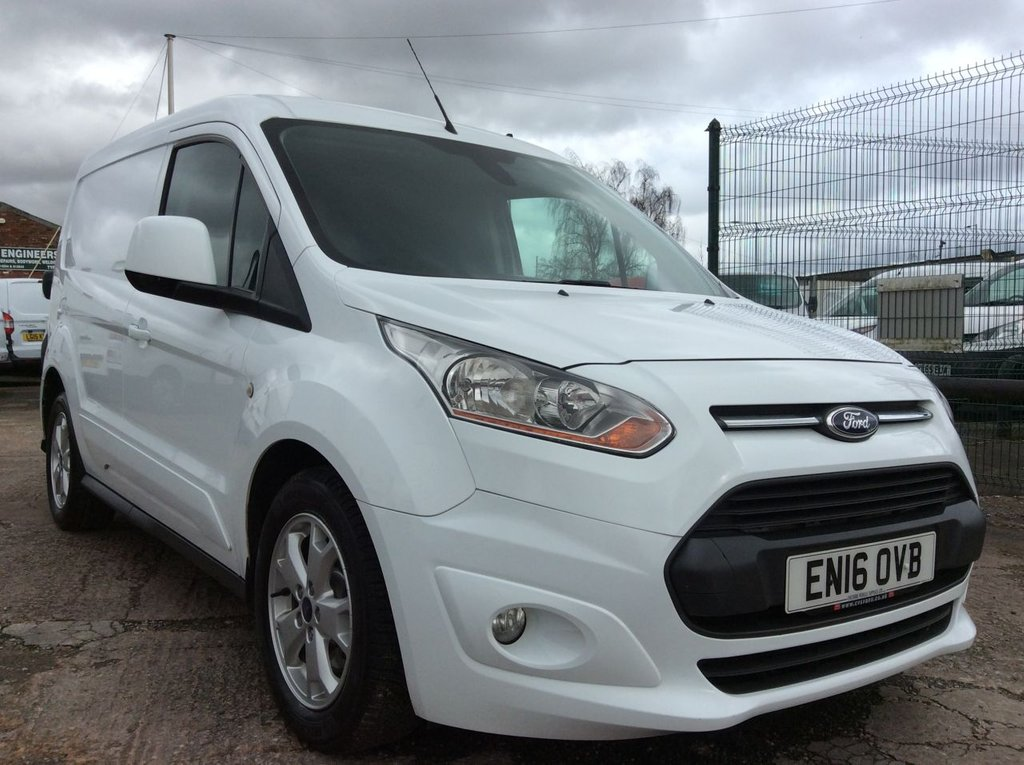 USED 2016 16 FORD TRANSIT CONNECT 1.6 200 LIMITED 114 BHP 1 OWNER FSH NEW MOT  FREE 6 MONTH AA WARRANTY INCLUDING RECOVERY AND ASSIST NEW MOT EURO 5 AIR CONDITIONING CRUISE CONTROL BLUETOOTH 3 SEATS ELECTRIC WINDOWS AND MIRRORS 6 SPEED REAR PARKING SENSORS
