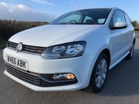 USED 2015 65 VOLKSWAGEN POLO 1.4 SE TDI BLUEMOTION 3d 74 BHP