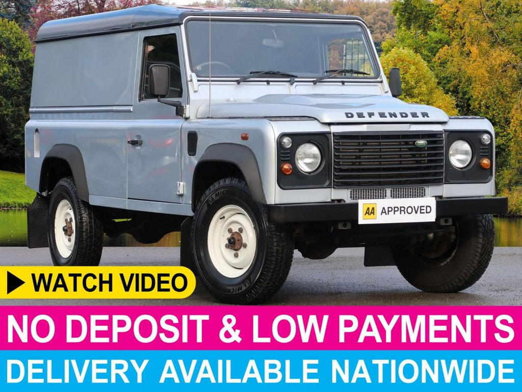 USED 2010 10 LAND ROVER DEFENDER 2.4 TDCI HARDTOP 3DR 1 OWNER AS NEW CONDITION