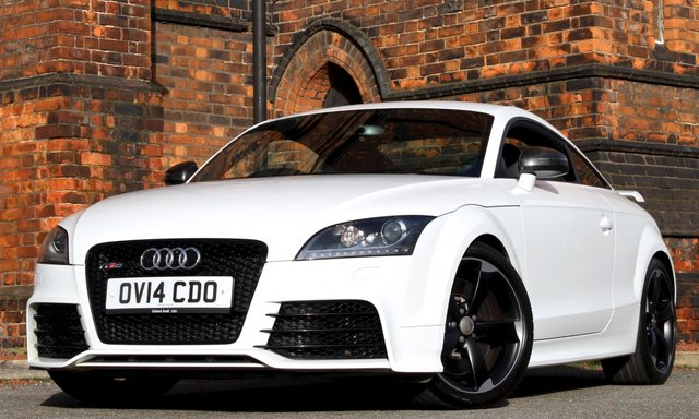 2014 14 AUDI TT RS 2.5 RS PLUS TFSI QUATTRO 2d 355 BHP [ BUCKET SEATS ]