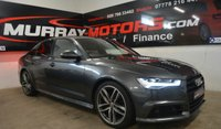 2016 AUDI A6 2.0 TDI S LINE BLACK EDITION  *DAYTONA GREY* £19995.00