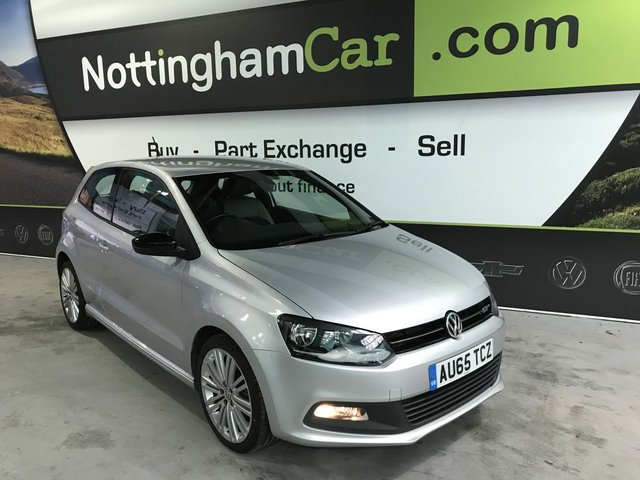 USED 2015 65 VOLKSWAGEN POLO 1.4 BLUEGT 3d 148 BHP