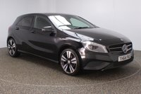 USED 2014 64 MERCEDES-BENZ A CLASS 1.5 A180 CDI BLUEEFFICIENCY SPORT 5DR AUTO 109 BHP FULL SERVICE HISTORY + £30 12 MONTHS ROAD TAX + HALF LEATHER SEATS + BLUETOOTH + CRUISE CONTROL + MULTI FUNCTION WHEEL + AIR CONDITIONING + XENON HEADLIGHTS + PRIVACY GLASS + ELECTRIC WINDOWS + ELECTRIC/HEATED DOOR MIRRORS + 18 INCH ALLOY WHEELS