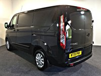 USED 2019 19 FORD TRANSIT CUSTOM 2.0 280 LIMITED P/V L1 H1 129 BHP VERY LOW MILES, HIGH SPEC, 130 BHP