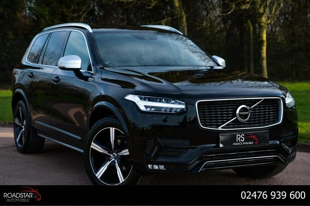 USED 2015 65 VOLVO XC90 2.0 D5 R-Design Geartronic 4WD (s/s) 5dr DEALER HISTORY+7 COMFORT SEAT