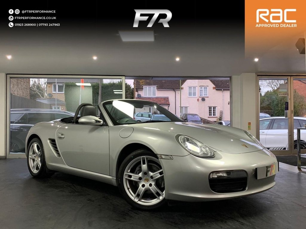 USED 2006 06 PORSCHE BOXSTER 2.7 24V TIPTRONIC S 2d 240 BHP