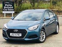 2016 HYUNDAI I40 1.7 CRDI S BLUE DRIVE 4d 139 BHP £7995.00