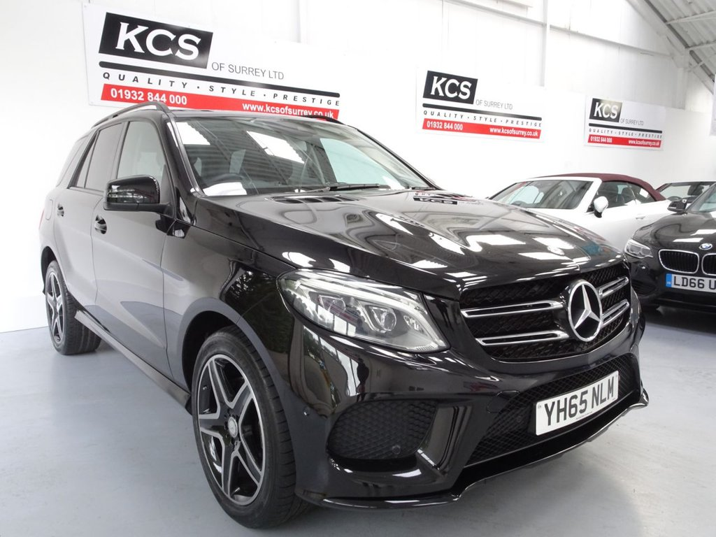 USED 2016 65 MERCEDES-BENZ GLE-CLASS 2.1 GLE 250 D 4MATIC AMG LINE 5d 201 BHP SAT NAV- NIGHT PACK- HTD SEATS
