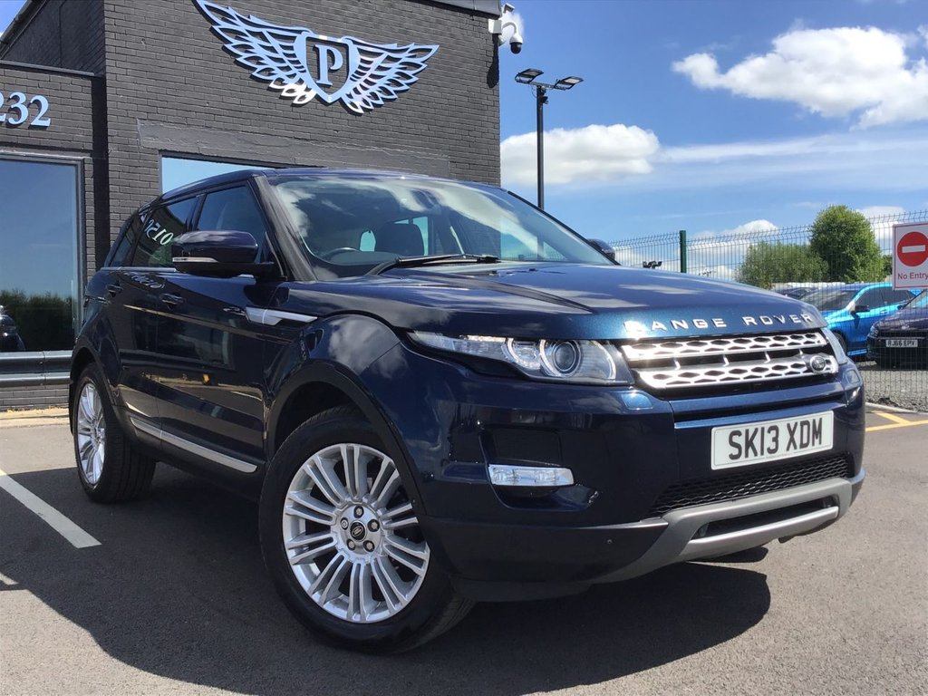 USED 2013 13 LAND ROVER RANGE ROVER EVOQUE 2.2 SD4 PRESTIGE LUX 5d 190 BHP FINANCE AVAILABLE FROM 4.9%