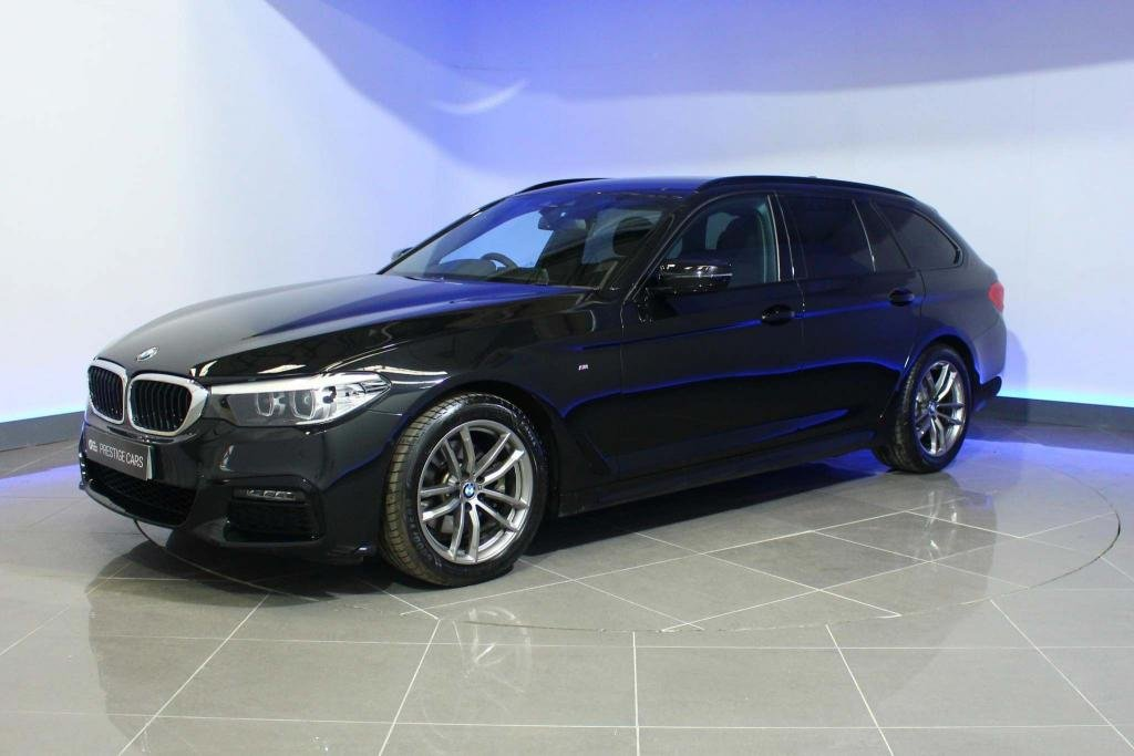 USED 2019 19 BMW 5 SERIES 2.0 520d M Sport Touring Auto xDrive (s/s) 5dr SAT NAV LEATHER PRIVACY GLASS